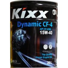 Масло моторное п\с. Kixx HD CF-4 15W-40 (Dynamic) /20л