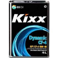 Масло моторное Kixx HD CF-4 15W-40 (Dynamic) /4л мет.