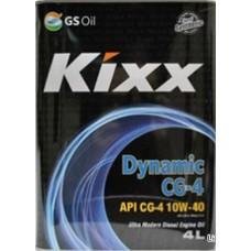 Масло моторное Kixx HD CG-4 15W-40 (Dynamic) /4л мет.